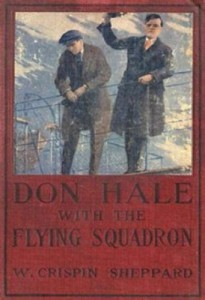 Don Hale with the Flying Squadron