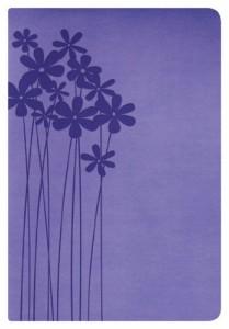 RVR 1960 Biblia Tamaño Personal, lilas en flor símil piel (Spanish Edition)