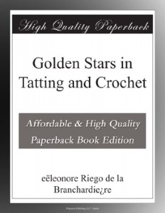 Golden Stars in Tatting and Crochet