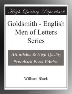 Goldsmith – English Men of Letters Series