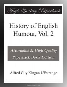 History of English Humour, Vol. 2