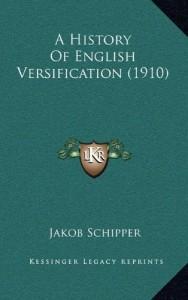 A History Of English Versification (1910)