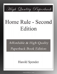 Home Rule – Second Edition