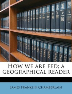 How we are fed; a geographical reader