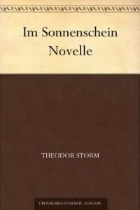 Im Sonnenschein Novelle (German Edition)