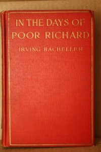 In the days of Poor Richard,