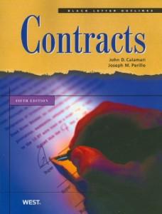 Calamari and Perillo's Black Letter Outline on Contracts, 5th