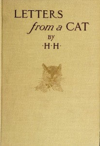 Letters From a Cat Published by Her Mistress for the Benefit of All Cats and the Amusement of Little Children