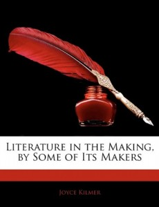 Literature in the Making, by Some of Its Makers