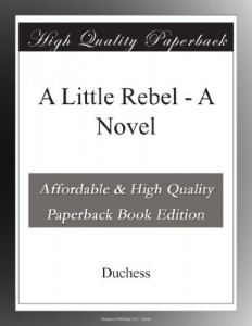 A Little Rebel – A Novel