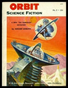 ORBIT – Volume 1, number 2 – 1953: Potential Enemy; Exploiter's End; The Mating of the Moons; A Traveler in Time; Tony and the Beetles; Place of Meeting; Luna Escapade; Time and the Woman; The Butterfly Kiss; Museum Piece
