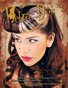Retro-DOS: Illustration on How to Do Vintage Inspired Hair Styles with a Modern Twist