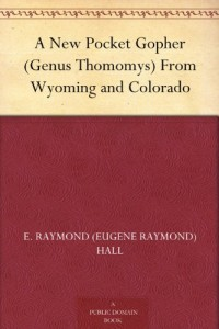 A New Pocket Gopher (Genus Thomomys) From Wyoming and Colorado