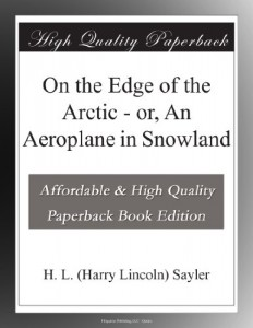 On the Edge of the Arctic – or, An Aeroplane in Snowland