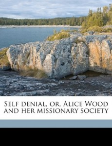 Self denial, or, Alice Wood and her missionary society