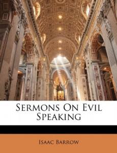 Sermons On Evil Speaking
