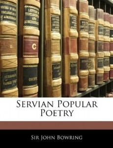 Servian Popular Poetry