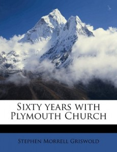 Sixty years with Plymouth Church