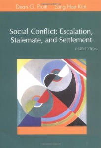 Social Conflict: Escalation, Stalemate, and Settlement (3rd Edition)