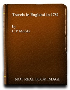 Travels in England in 1782 (Cassell's national library)