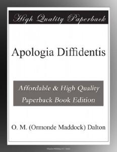 Apologia Diffidentis