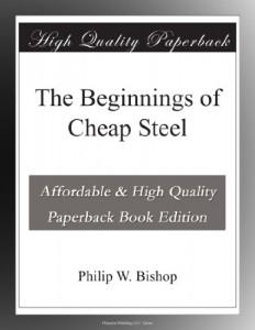 The Beginnings of Cheap Steel