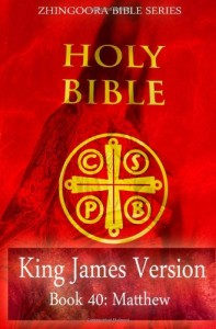 Holy Bible, King James Version, Book 40 Matthew