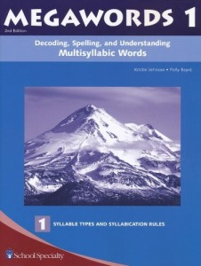 Decoding, Spelling, and Understanding Multisyllabic Words: Syllable Types and Syllabication Rules (Megawords, Book 1)