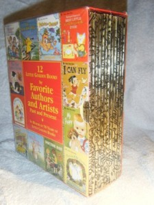 Twelve Little Golden Books by Favorite Authors and Artists, Past and Present